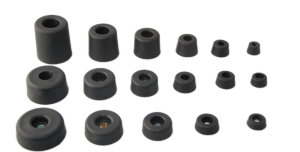 Round Rubber Feet & Bumpers