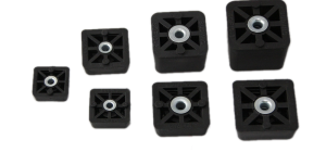 Square & Cube Rubber Feet & Bumpers